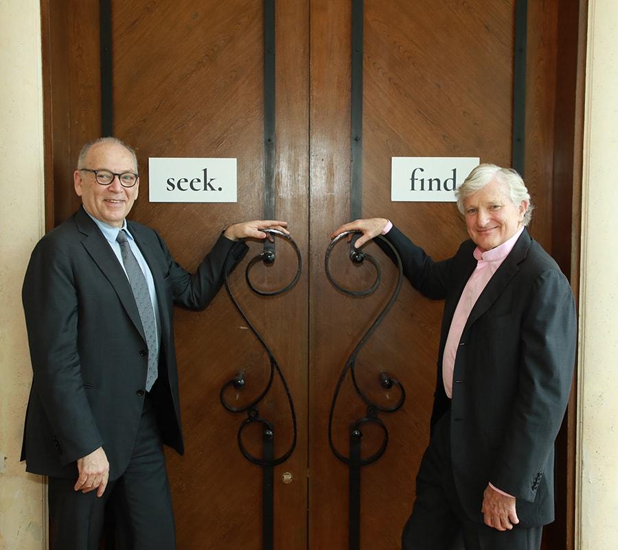 I fondatori, Thomas Faerber & Ronny Totah